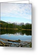 Refections Greeting Card by Brent Parks