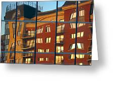 Reflection Le Selection Greeting Card by Elisabeth Van Eyken
