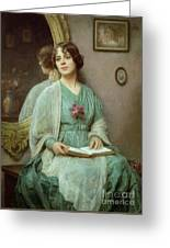 Reflections Greeting Card by Ethel Porter Bailey