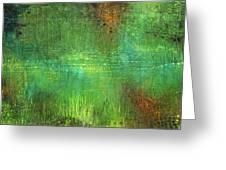 Reflections Greeting Card by Lolita Bronzini