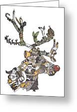 Reindeer Games Greeting Card by Tyler Auman