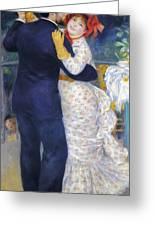 Renoir: Dancing, 1883 Greeting Card by Granger