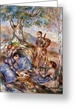Renoir: Grape Pickers Greeting Card by Granger