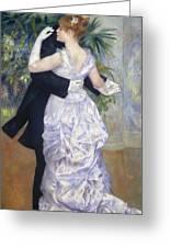 Renoir: Town Dance, 1883 Greeting Card by Granger