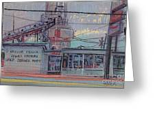 Repair Shop Greeting Card by Donald Maier