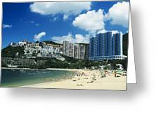 Repulse Bay Greeting Card by Gloria and Richard Maschmeyer - Printscapes