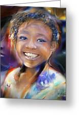 Returning A Smile Greeting Card by Bob Salo