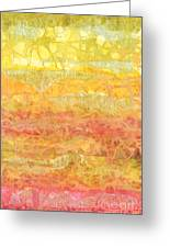 Rhapsody Of Colors 30 Greeting Card by Elisabeth Witte - Printscapes