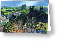 Richmond Carnival In Frenchgate Greeting Card by Neil McBride