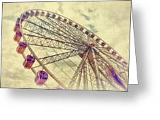 Riding High Greeting Card by Kathy Jennings