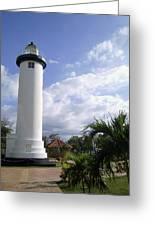 Rincon Puerto Rico Lighthouse Greeting Card by Adam Johnson