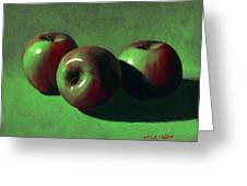 Ripe Apples Greeting Card by Frank Wilson