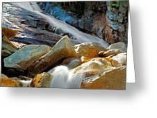 Ripley Falls Cascading Light Greeting Card by Shelle Ettelson