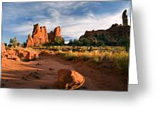 River Of Sand Greeting Card by Mike  Dawson