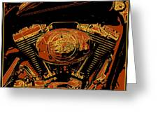 Road King Greeting Card by Gary Grayson