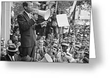 ROBERT F. KENNEDY Greeting Card by Granger