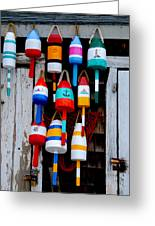 Rockport Bouys Greeting Card by Craig Incardone