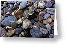 Rocks Greeting Card by Roberto Alamino