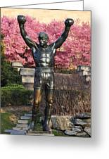 Rocky In Spring Greeting Card by Bill Cannon