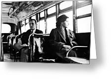 Rosa Parks (1913-2005) Greeting Card by Granger