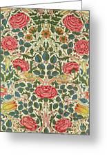 Rose Greeting Card by William Morris