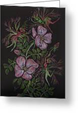 Roses Run Amok Greeting Card by Dawn Fairies