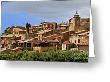 Rousillon Greeting Card by Stan and Anne Foster