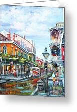 Royal Balconies Greeting Card by Dianne Parks