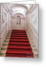 Royal Palace Staircase Greeting Card by Jose Elias - Sofia Pereira