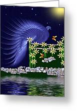 Royal Peacock Greeting Card by Madeline  Allen - SmudgeArt