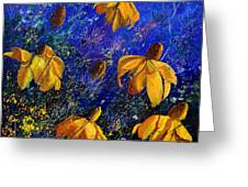 Rudbeckia's Greeting Card by Pol Ledent