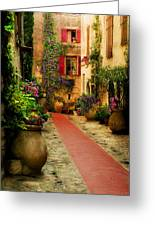 Rue Phillippe Greeting Card by John Galbo