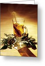Rum Hot Toddy Greeting Card by Robert Ponzoni