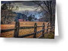 Rural America Greeting Card by Everet Regal