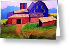 Rural Reverie Greeting Card by Hugh Harris