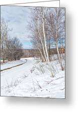 Rural Roads Greeting Card by Bill Wakeley