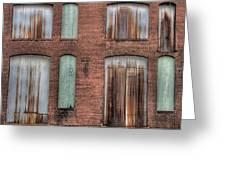 Rust Never Sleeps Greeting Card by Jane Linders
