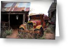 Rusted Classic Greeting Card by Perry Webster