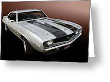 S S Camaro Greeting Card by Bill Dutting