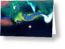 Sacred Dawn Greeting Card by Lee Pantas