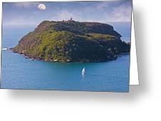 Sailing Ku-Ring-Gai Greeting Card by Charles Warren