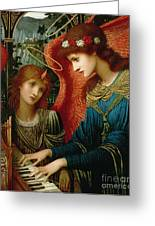 Saint Cecilia Greeting Card by John Melhuish Strukdwic
