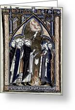 Saint Dominic Greeting Card by Granger