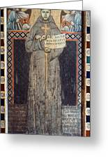 Saint Francis Of Assisi Greeting Card by Granger