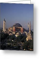 Saint Sophia Hagia Sophia Greeting Card by Richard Nowitz