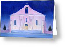 San Elizario El Paso Greeting Card by Michael Gillespie