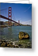 San Francisco Greeting Card by Niels Nielsen