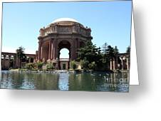 San Francisco Palace Of Fine Arts - 5d18107 Greeting Card by Wingsdomain Art and Photography