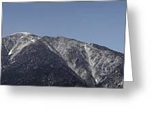 San Gabriel Mountains Greeting Card by Viktor Savchenko