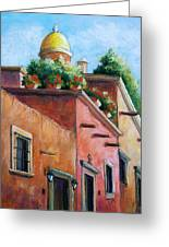 San Miguel De Allende Greeting Card by Candy Mayer